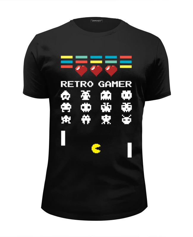 Фото - Футболка Wearcraft Premium Slim Fit Printio Ретро игрок (8-бит) футболка wearcraft premium printio игрок