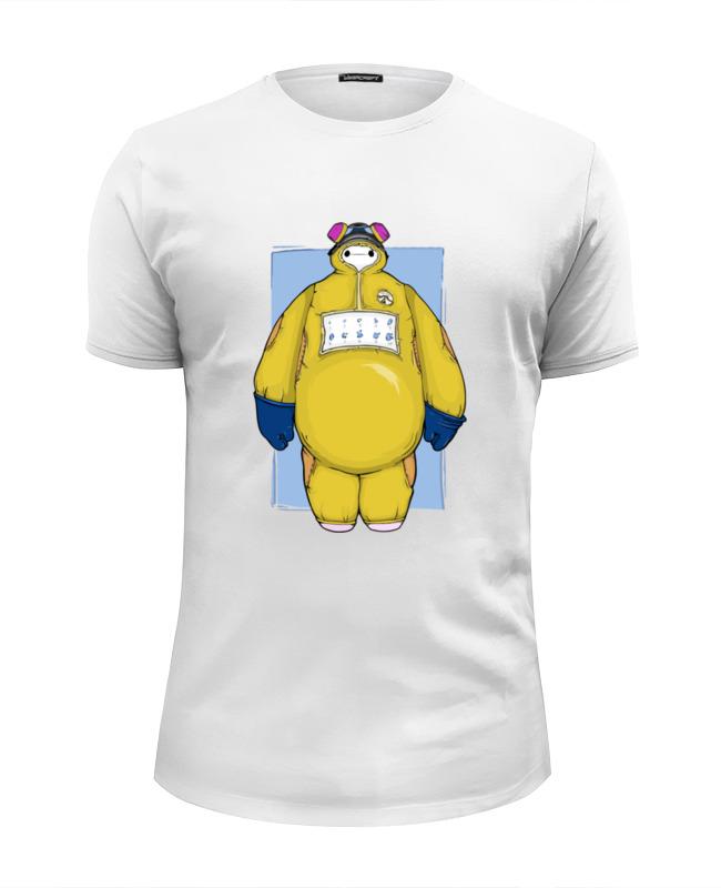 Футболка Wearcraft Premium Slim Fit Printio Baymax x breaking bad футболка wearcraft premium slim fit printio god of meth breaking bad
