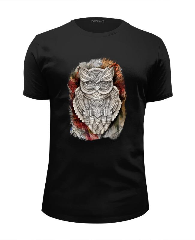Футболка Wearcraft Premium Slim Fit Printio Doodle owl футболка wearcraft premium printio ольга бузова