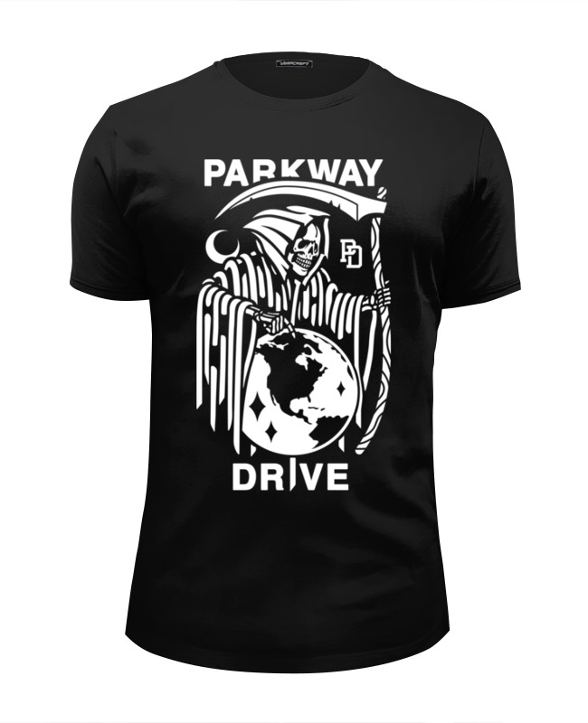 Футболка Wearcraft Premium Slim Fit Printio Parkway drive 1setx original new pickup roller feed exit drive for fujitsu scansnap s300 s300m s1300 s1300i