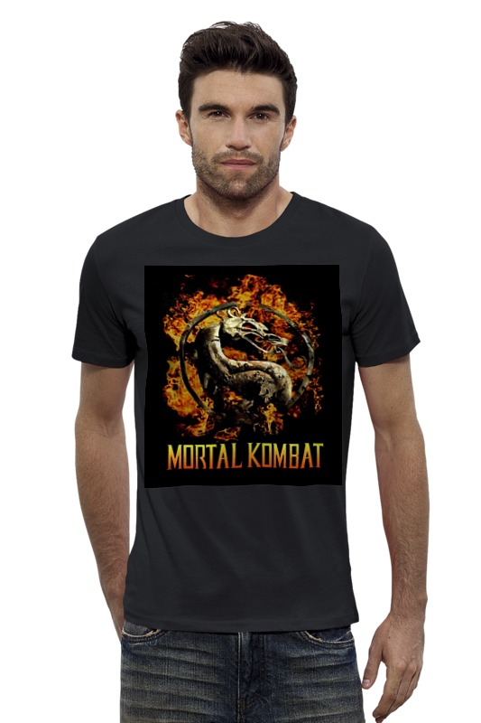 Футболка Wearcraft Premium Slim Fit Printio Mortal kombat