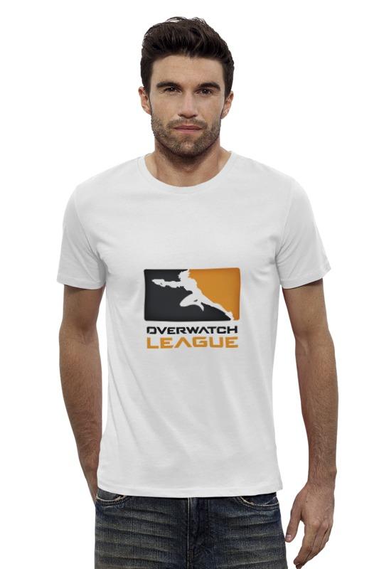 Футболка Wearcraft Premium Slim Fit Printio Overwatch league