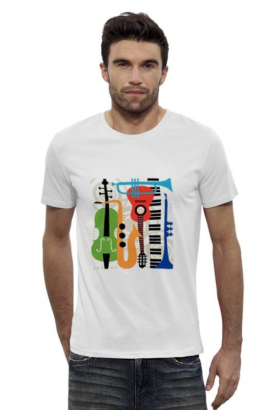 Футболка Wearcraft Premium Slim Fit Printio Музыкальные инструменты музыкальные игрушки s s toys музыкальные инструменты