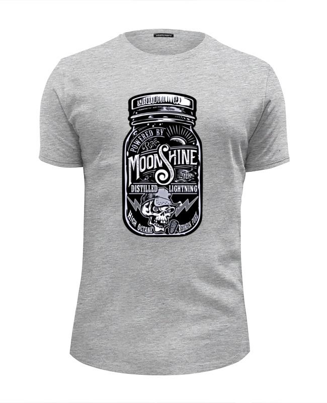 Футболка Wearcraft Premium Slim Fit Printio Moonshine summer moonshine