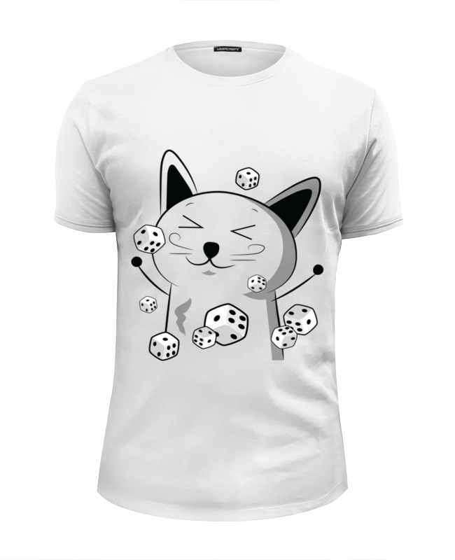 Printio Счастливый котэ с кубиками футболка wearcraft premium printio кубики