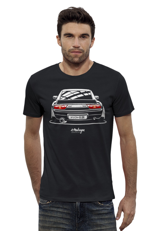 Футболка Wearcraft Premium Slim Fit Printio Nissan 240sx футболка wearcraft premium slim fit printio nissan skyline r34