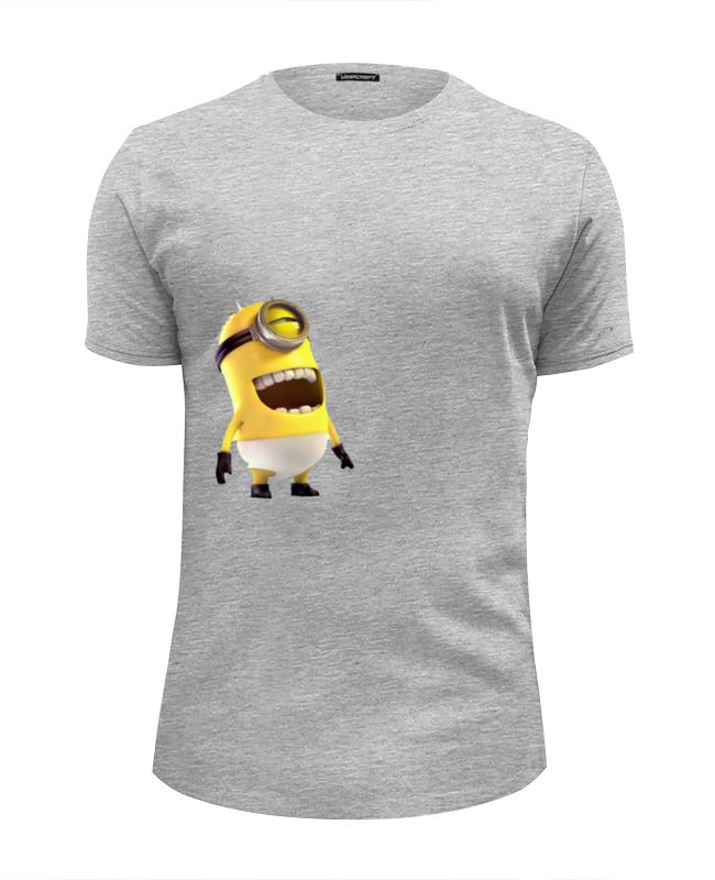 Футболка Wearcraft Premium Slim Fit Printio Миньон футболка wearcraft premium slim fit printio миньон