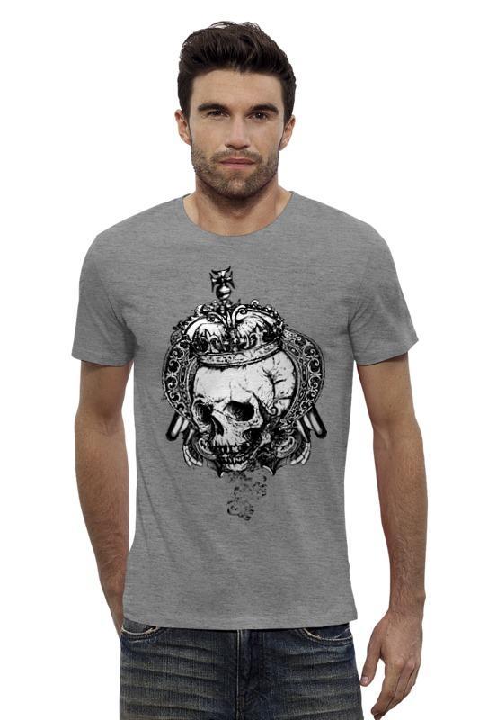Футболка Wearcraft Premium Slim Fit Printio Королевский череп мицелий грибов шампиньон королевский субстрат объем 60 мл