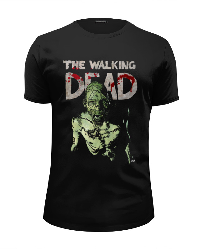Printio The walking dead футболка wearcraft premium slim fit printio homer walking dead