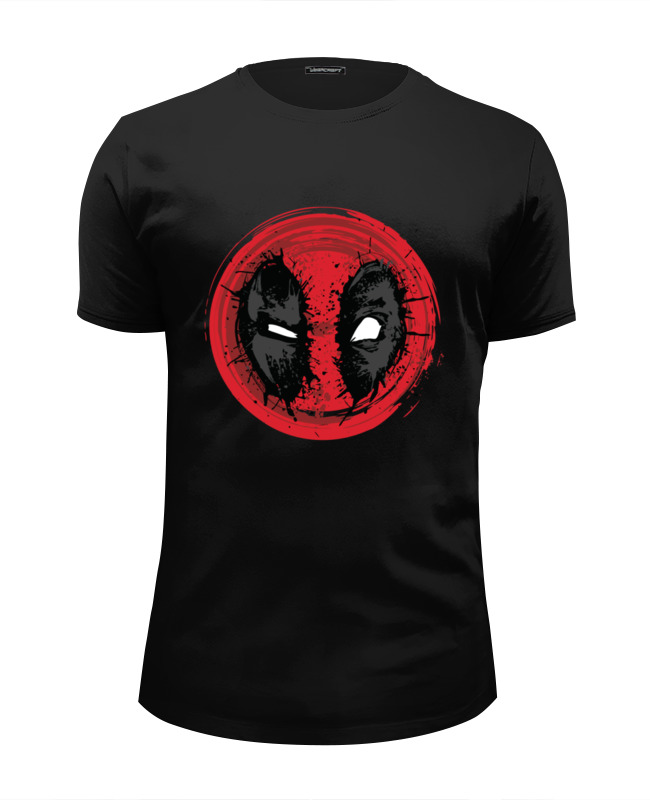 Футболка Wearcraft Premium Slim Fit Printio Crazy deadpool
