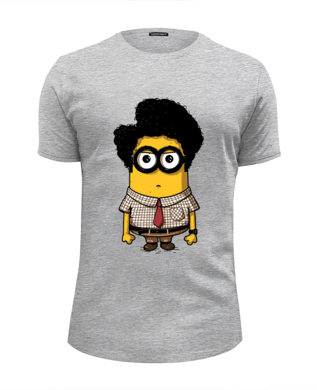 Футболка Wearcraft Premium Slim Fit Printio Minion moss футболка wearcraft premium slim fit printio minion anatomia
