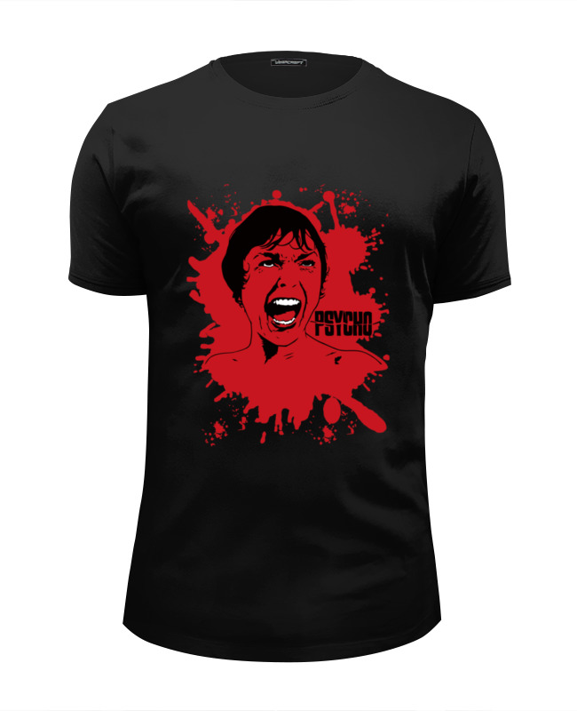 Printio Psycho футболка стрэйч printio psycho