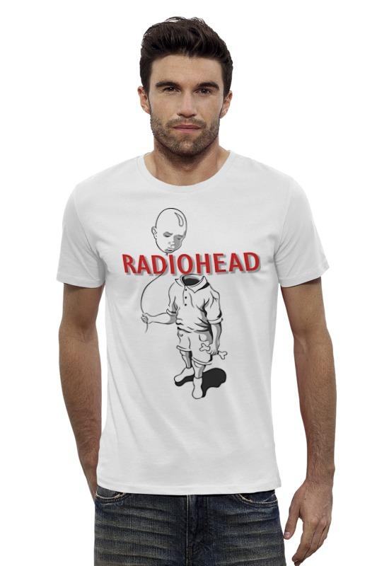 Футболка Wearcraft Premium Slim Fit Printio Radiohead cd из японии radiohead