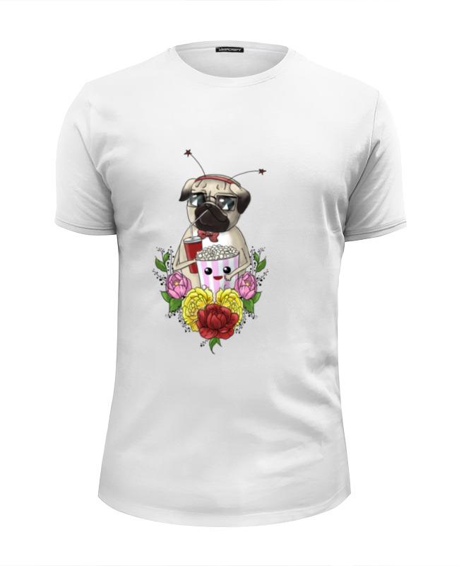 Футболка Wearcraft Premium Slim Fit Printio Веселый мопс футболка wearcraft premium slim fit printio веселый бараш