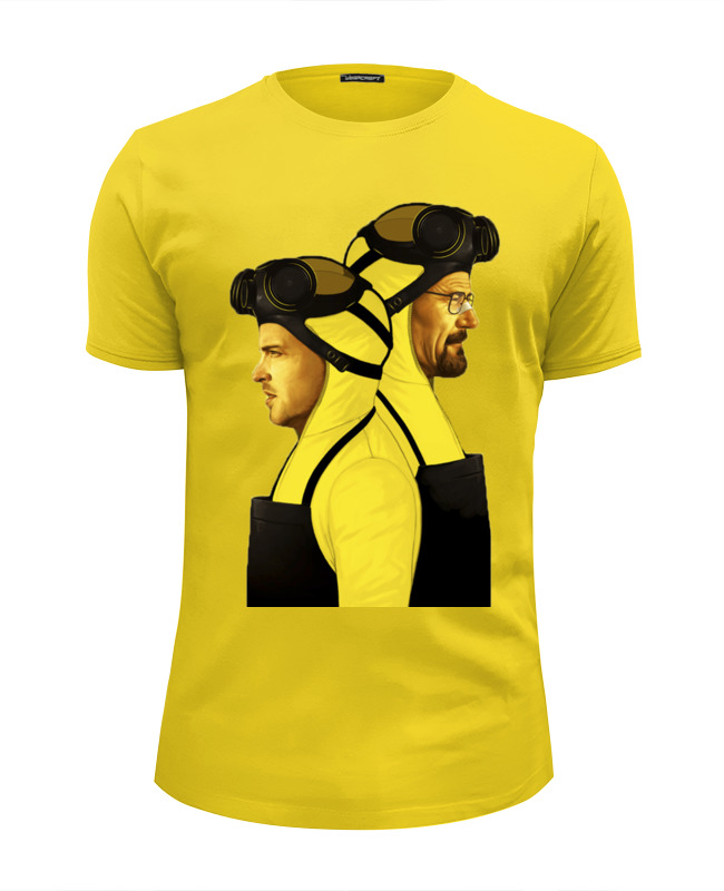 Футболка Wearcraft Premium Slim Fit Printio Breaking bad. jesse and walter. майка классическая printio breaking bad jesse and walter