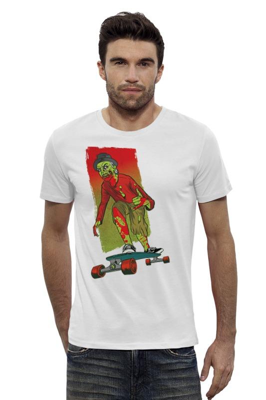 Футболка Wearcraft Premium Slim Fit Printio Zombie футболка wearcraft premium slim fit printio радостный крот