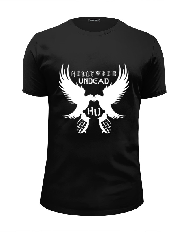Футболка Wearcraft Premium Slim Fit Printio Hollywood undead футболка wearcraft premium printio мой голливуд undead
