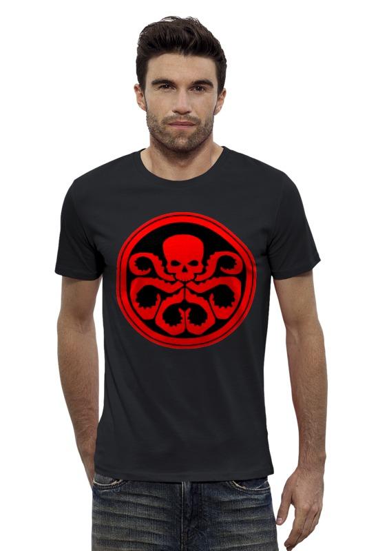 Футболка Wearcraft Premium Slim Fit Printio Marvel hydra футболка wearcraft premium printio hydra arsb