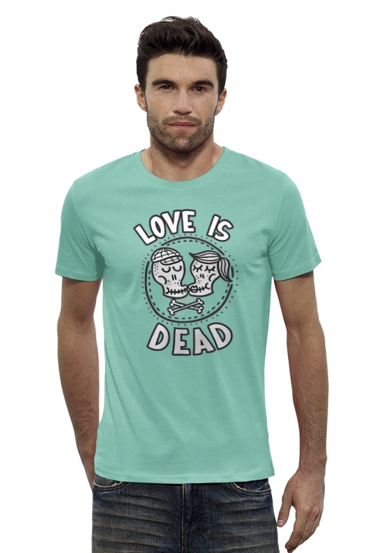 Футболка Wearcraft Premium Slim Fit Printio Love is dead original monstr high love s not dead ghoulia yelps