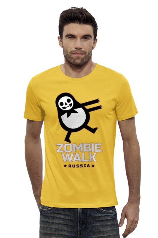 Футболка Wearcraft Premium Slim Fit Printio Zombie walk - russia футболка wearcraft premium slim fit printio россия russia