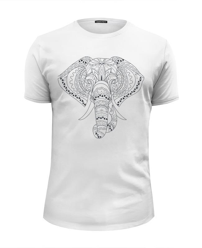 Printio Слон этник футболка wearcraft premium printio слон