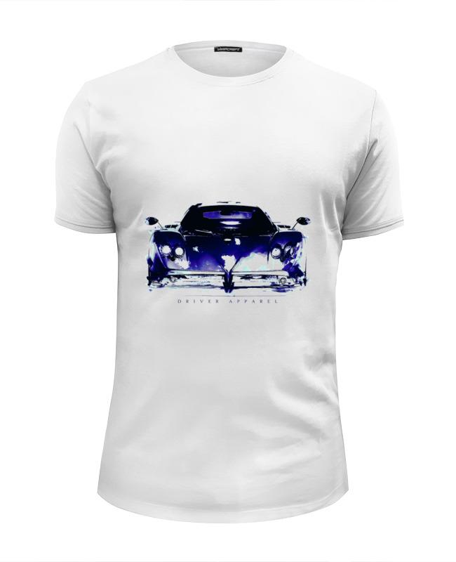 Футболка Wearcraft Premium Slim Fit Printio Пагани зонда - pagani zonda supercar art игрушка motormax pagani zonda f 73369