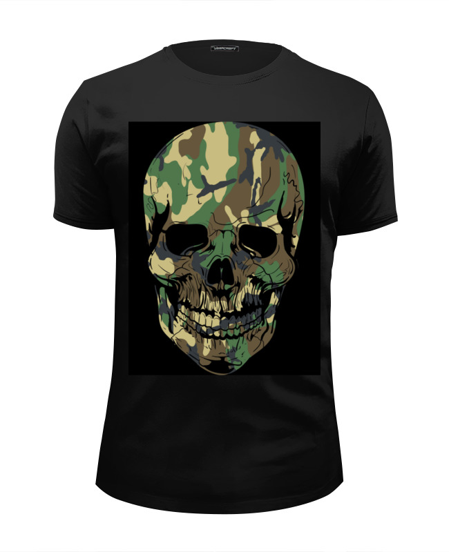 Футболка Wearcraft Premium Slim Fit Printio Skull - 11 футболка wearcraft premium slim fit printio low poly skull