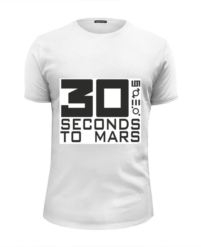 Футболка Wearcraft Premium Slim Fit Printio 30 seconds to mars fit 30