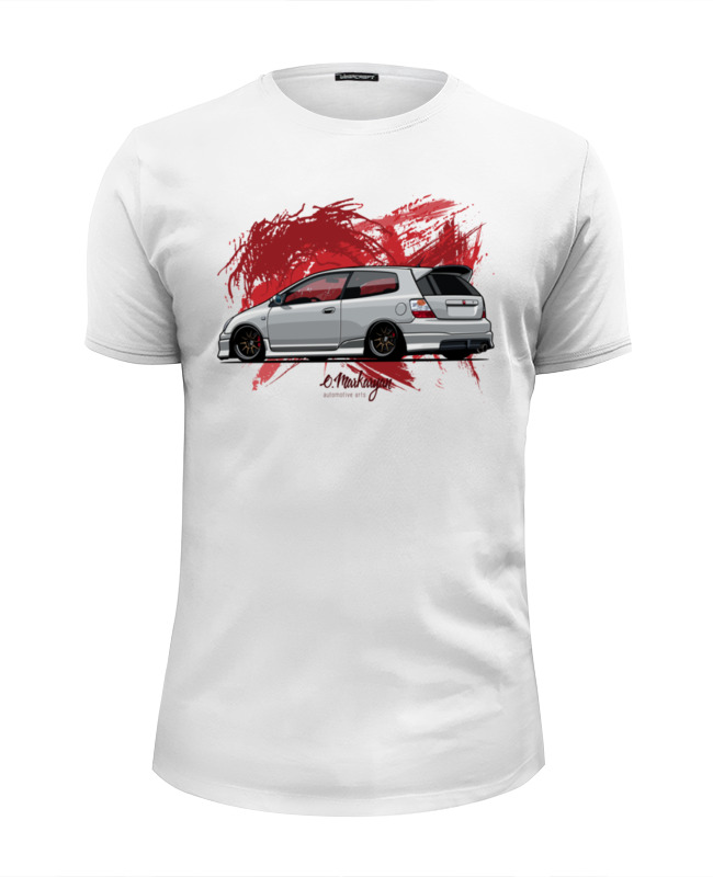 Printio Civic type r футболка wearcraft premium slim fit printio honda civic generation