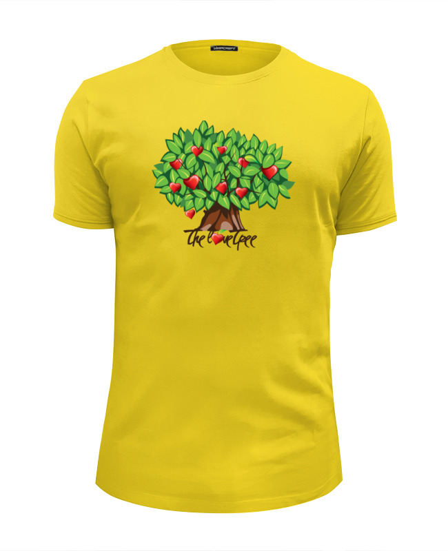 Футболка Wearcraft Premium Slim Fit Printio Icalistini the love tree дерево любви cartoon tree duvet cover set