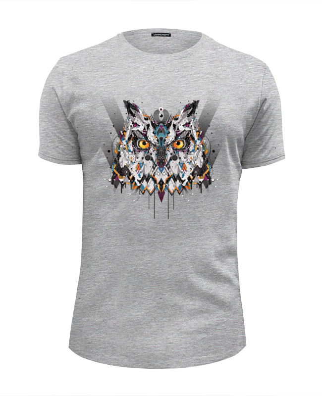 Футболка Wearcraft Premium Slim Fit Printio Сова (owl) цена