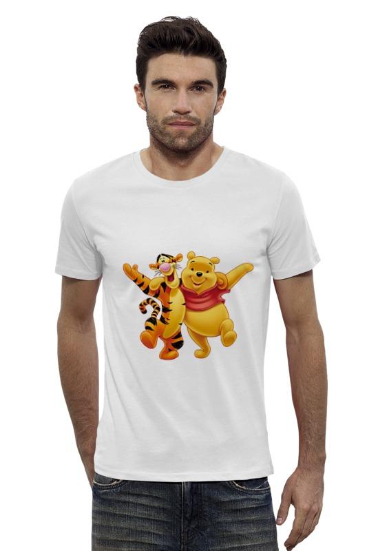 Футболка Wearcraft Premium Slim Fit Printio Винни пух и тигра футболка wearcraft premium printio винни пух