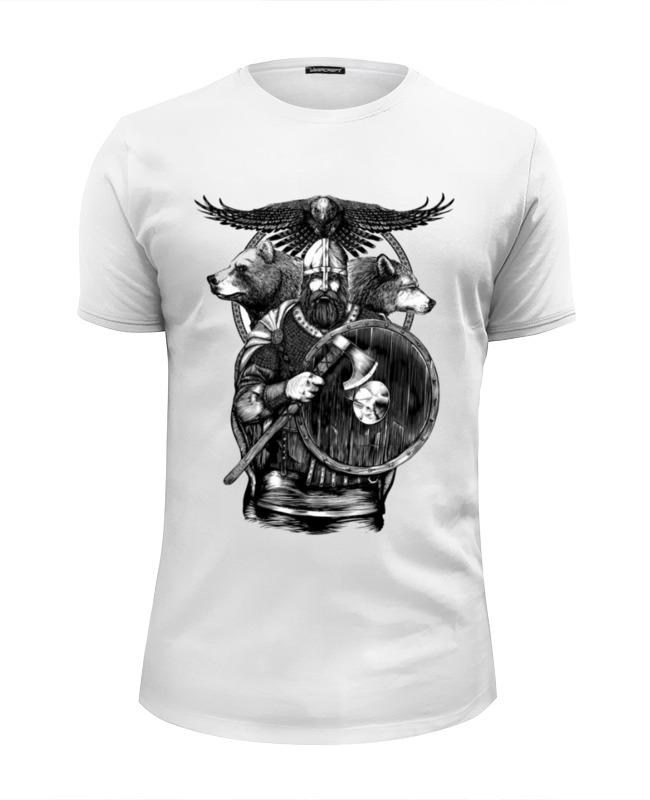 Футболка Wearcraft Premium Slim Fit Printio Славяне футболка wearcraft premium printio славяне