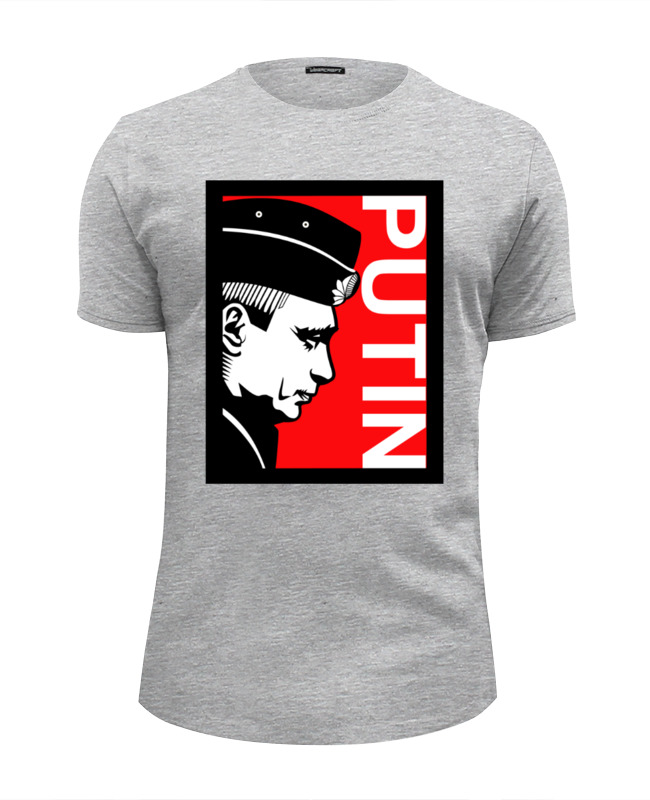Футболка Wearcraft Premium Slim Fit Printio Путин (putin) футболка wearcraft premium slim fit printio путин putin