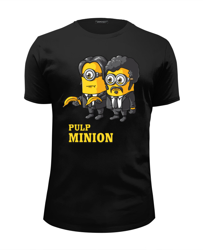 Printio Pulp minion футболка wearcraft premium slim fit printio утиное чтиво