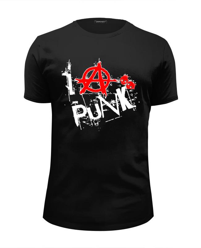 Футболка Wearcraft Premium Slim Fit Printio Punks not dead