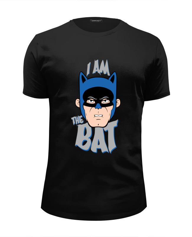 Футболка Wearcraft Premium Slim Fit Printio I am the bat the bat professional
