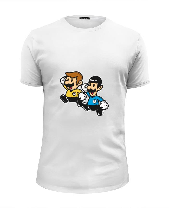 Футболка Wearcraft Premium Slim Fit Printio Звездный путь (марио) футболка wearcraft premium slim fit printio звездный повар