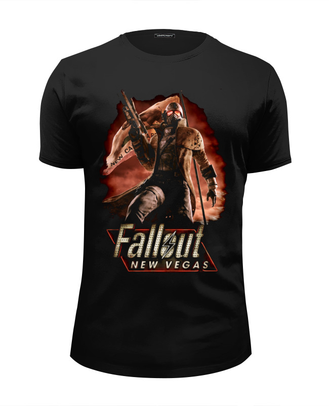 Футболка Wearcraft Premium Slim Fit Printio Fallout: new vegas футболка wearcraft premium slim fit printio welcome to new vegas