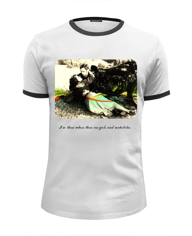Футболка Wearcraft Premium Slim Fit Printio Motolove футболка wearcraft premium printio мотоциклы