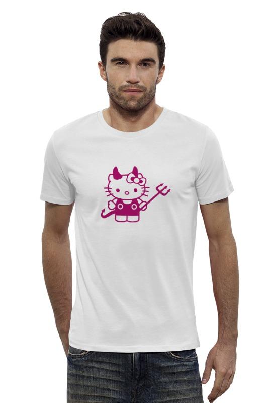 Футболка Wearcraft Premium Slim Fit Printio Hello kitty devil футболка wearcraft premium slim fit printio hello kitty x avengers