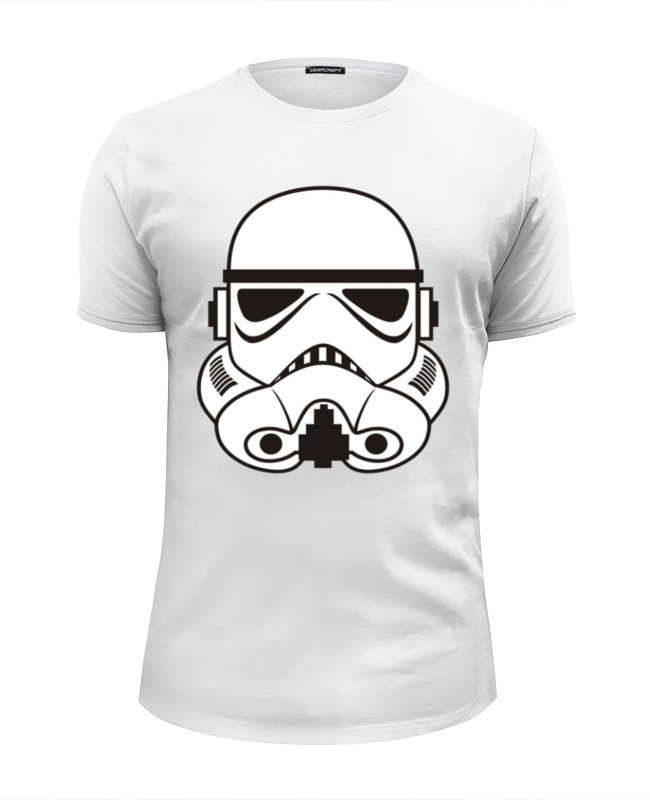 Футболка Wearcraft Premium Slim Fit Printio Star wars clone лонгслив printio clone star wars
