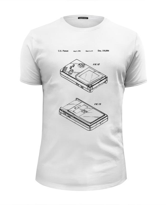 Футболка Wearcraft Premium Slim Fit Printio Gameboy лонгслив printio gameboy