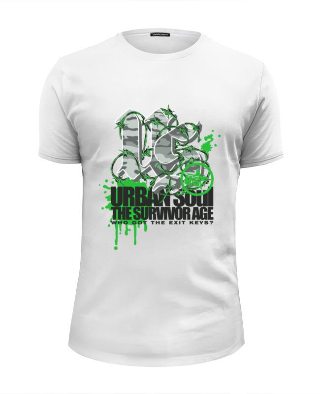 Printio Urban soul футболка wearcraft premium slim fit printio soul eater