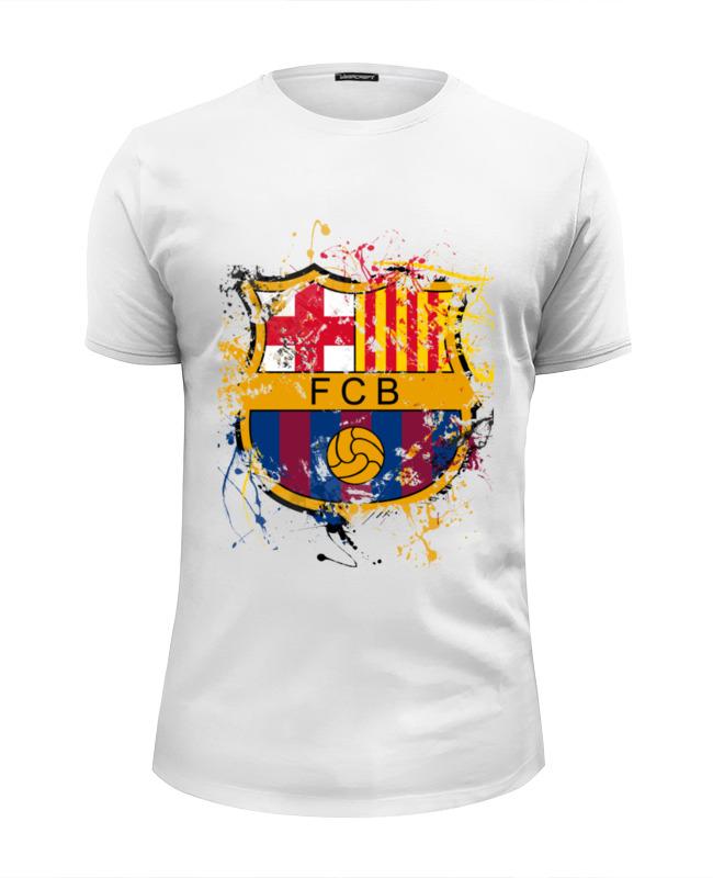 Футболка Wearcraft Premium Slim Fit Printio Барселона футболка wearcraft premium slim fit printio итальянская федерация футбола figc