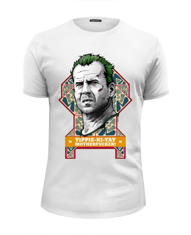 Футболка Wearcraft Premium Slim Fit Printio Bruce willis футболка с полной запечаткой для девочек printio bruce willis