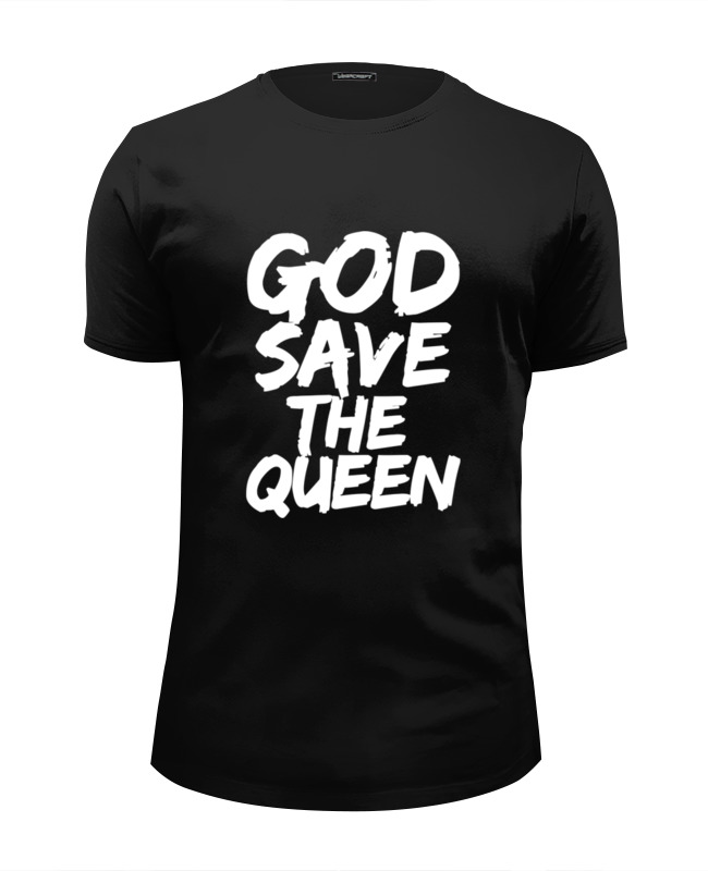 Футболка Wearcraft Premium Slim Fit Printio God save the queen (боже, храни королеву) футболка wearcraft premium printio god save the queen боже храни королеву