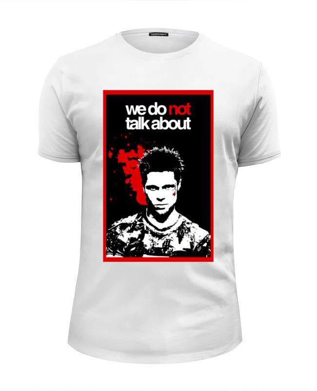 Футболка Wearcraft Premium Slim Fit Printio Бойцовский клуб (fight club) футболка wearcraft premium slim fit printio fight club бойцовский клуб