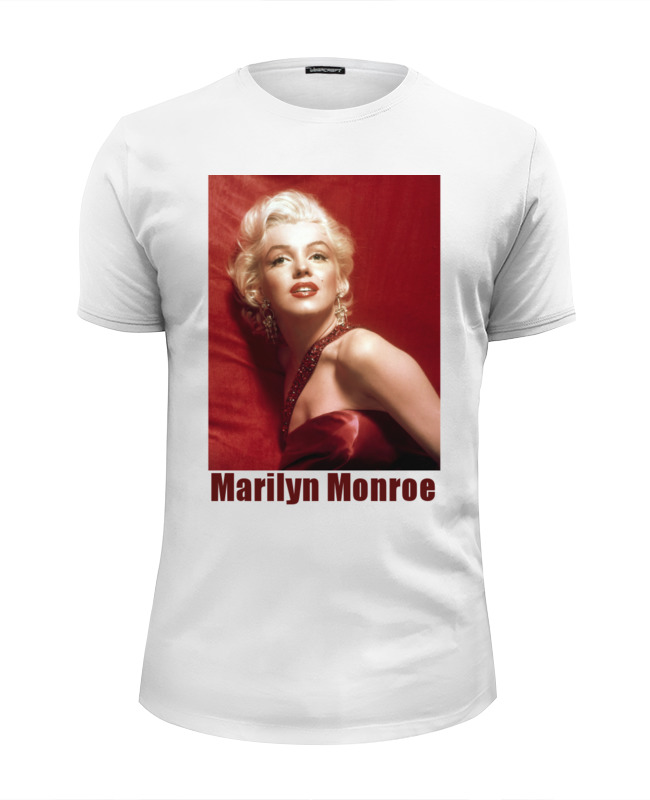Футболка Wearcraft Premium Slim Fit Printio Marilyn monroe red футболка рингер printio marilyn monroe