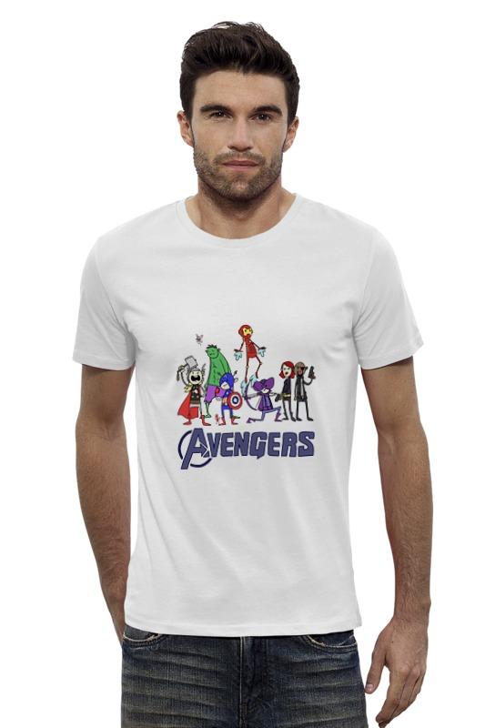 Футболка Wearcraft Premium Slim Fit Printio Мстители (avengers) футболка wearcraft premium slim fit printio avengers
